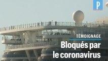 Coincés par le coronavirus sur un navire en Italie : « Pour le moment, pas de panique à bord »