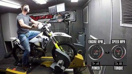 2020 Husqvarna FX 350 Dyno Test