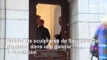 Dix sculptures de Salvador Dali dérobées dans une galerie à Stockholm