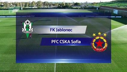 RELIVE: FK Jablonec v CSKA Sofia 2020