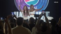 Shakira and Jennifer Lopez at the Pepsi Super Bowl LIV Halftime Show Press Conference