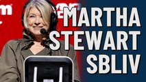 Martha Stewart at Super Bowl LIV
