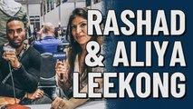 Rashad Jennings & Aliya LeeKong at Super Bowl LIV