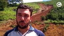 Produtores do ES têm prejuizo com deslizamento de terra em Iúna