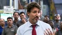 Coronavirus outbreak- Trudeau calls on Canadians to combat 'unreasonable fears' over illness