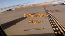 Take off Flight   - Take off Flight From  Dallas America USA Emirates EK 222 Dallas(DFW) To Dubai(DXB