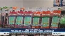 Penjualan Masker dan Disinfektan di Bandara Soetta Meningkat