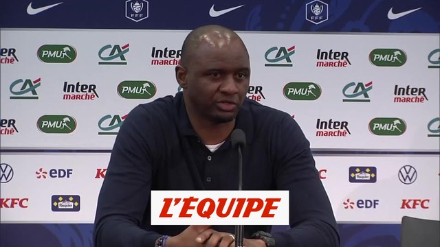 Vieira «La déception domine» - Foot - Coupe - Nice