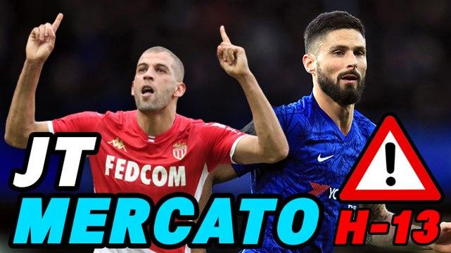 Journal du Mercato - édition de 11h : Giroud et Slimani agitent le marché