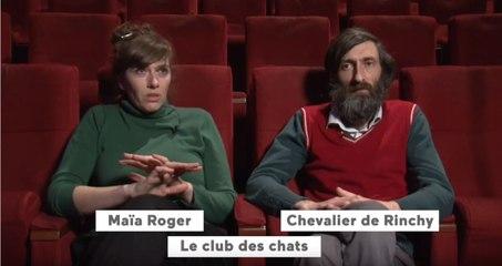 Interview de Maïa Roger et Chevalier de Rinchy [Le club des chats ] | Tout-Petits Cinéma - 13e édition