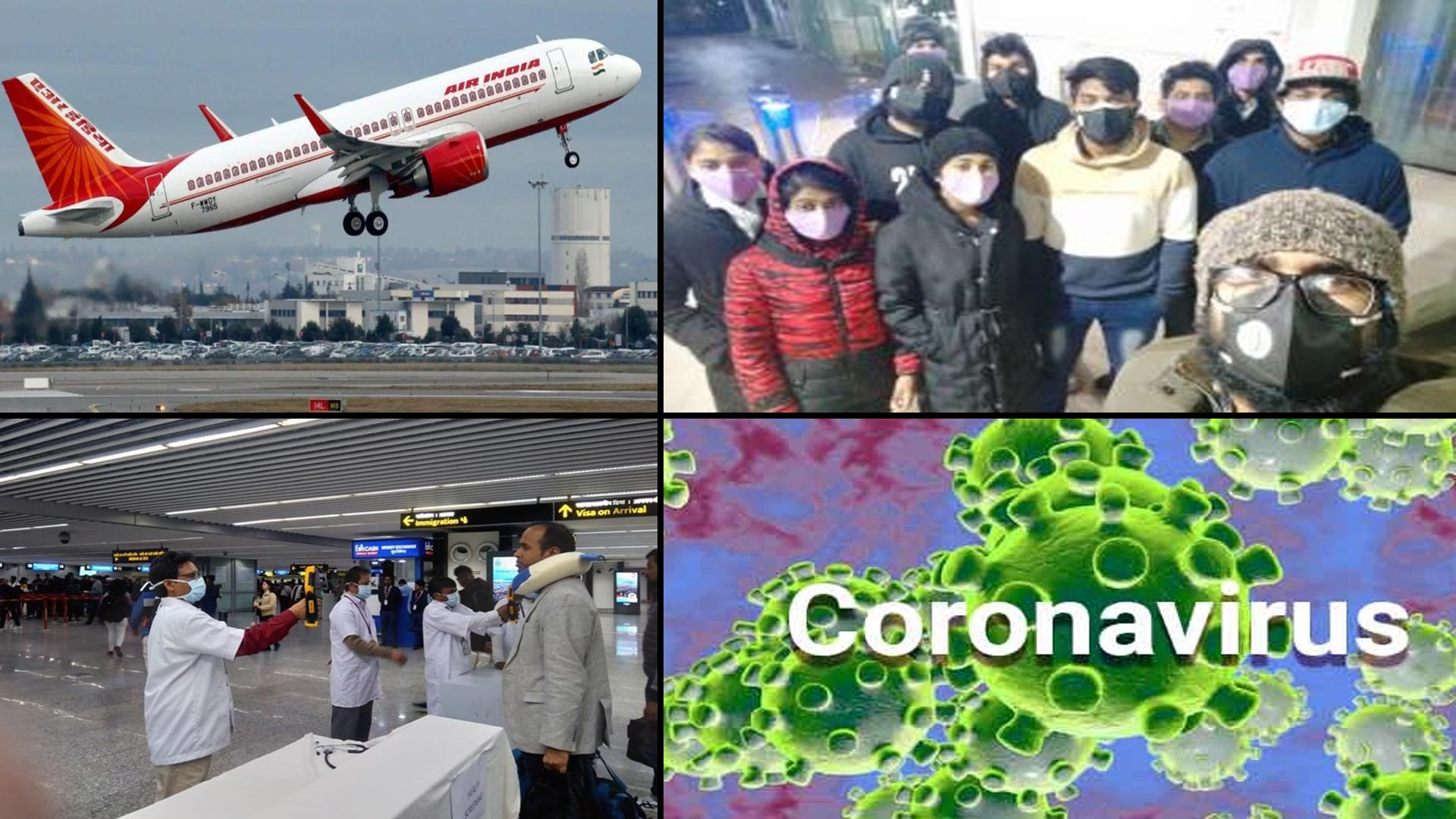 Coronavirus : Air India Special Flight To Bring Back Indians From China's Wuhan