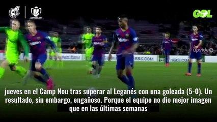 ¡Pelea con Messi! Tangana en el vestuario del Barça. ¡Y Quique Setién lo manda para casa!