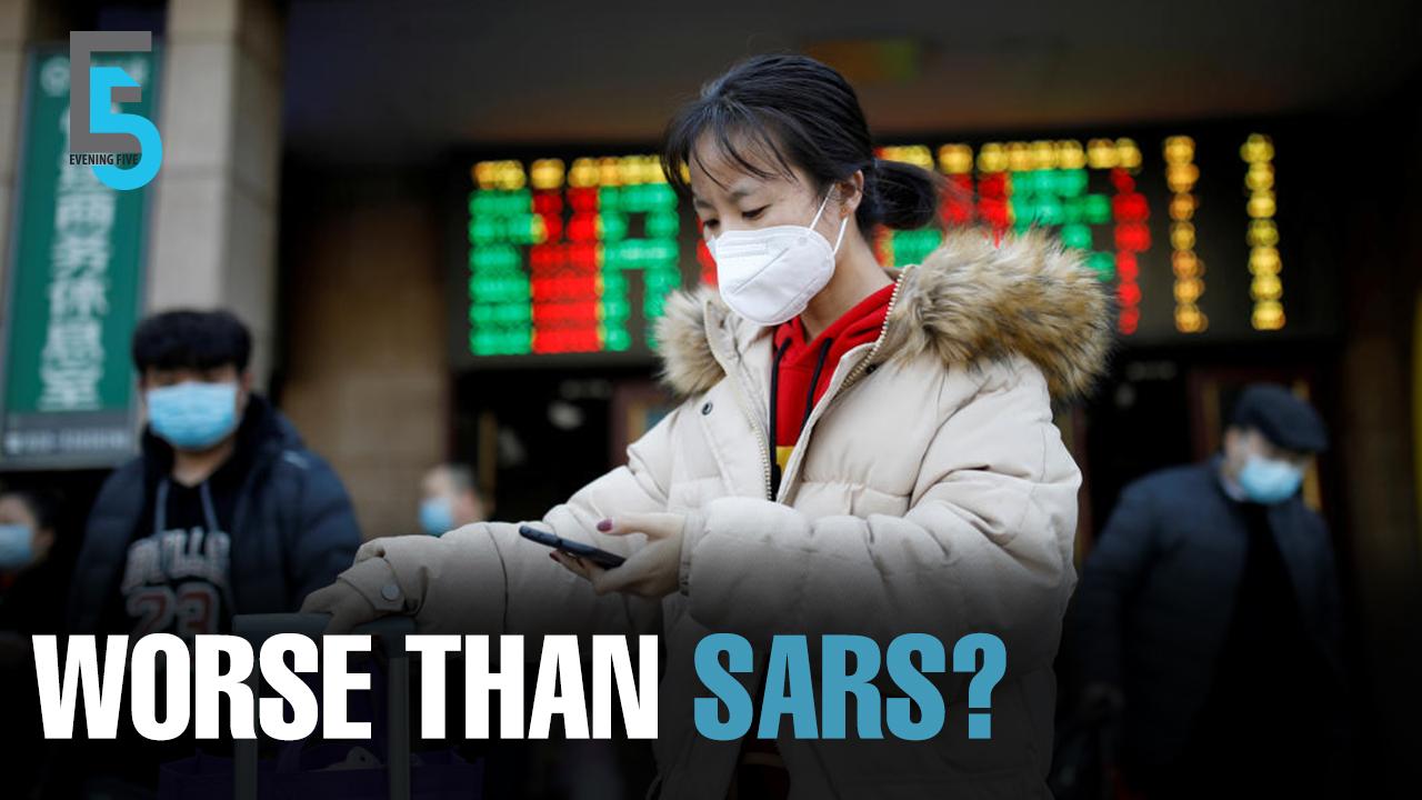 EVENING 5: Corona impact more devastating than SARS?