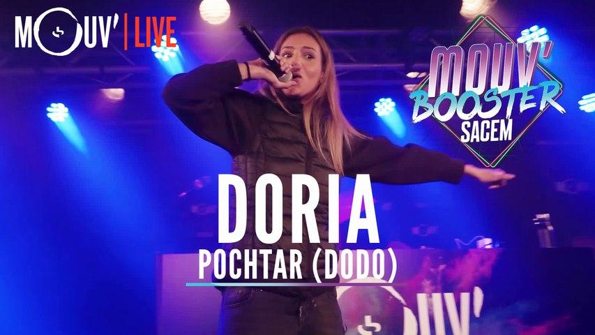 """DORIA : """"Pochtar (Dodo)"""" (Live @Mouv' Booster Sacem)"""