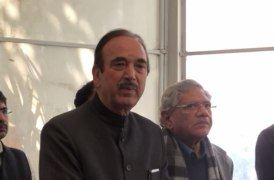CAA projected as success in Presidential address shameful- Ghulam Nabi Azad