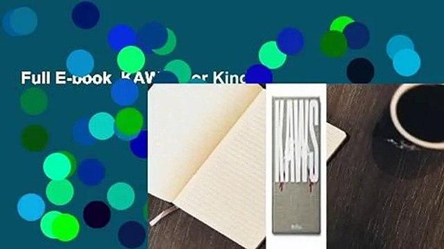 Full E-book  KAWS  For Kindle
