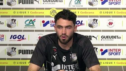 Conférence de presse d'avant Match, Thomas Monconduit
