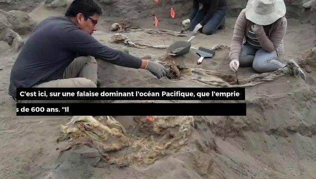 Pérou : le plus grand site sacrificiel d'enfants découvert au nord du pays