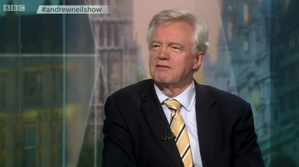 David Davis said he 'misspoke' when he claimed trade deal would be ready for Brexit day