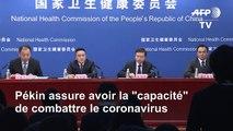 """Virus: Pékin assure avoir la capacité de """"vaincre l'épidémie"""""""