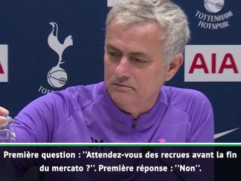 Transferts - Quand Mourinho s'amuse à faire les questions et les réponses