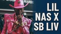 Lil Nas X at Super Bowl LIV