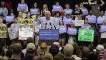Bernie Sanders Edges Joe Biden for Lead in National Poll Just Before Iowa Caucuses