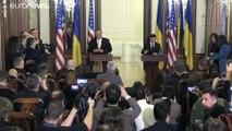 Washington réaffirme son soutien à Kiev