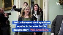 Taylor Swift Calls GOP Sen. Marsha Blackburn 'Trump in a Wig'