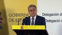 Enric Millo brandant un correu de Ferran López el migdia de l'1-O