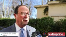 Ardèche : François Hollande partage son expérience de président avec les jeunes