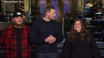JJ Watt, Luke Combs And Aidy Bryant Celebrate Big Boy Week At SNL