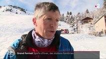 Hautes-Alpes : une station de ski fantôme