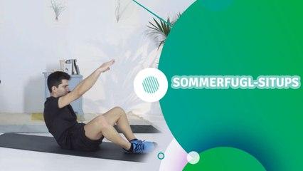 Sommerfugl-situps - Trenings Glede