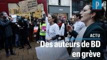 Festival de BD d'Angoulême : des auteurs en grève contre la précarité