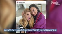 Demi Lovato Says the 'Emotional' Moment She Came Out to Her Parents Was 'Really Beautiful'