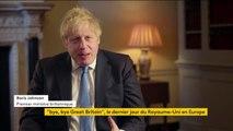 """Le Brexit n'est """"pas la fin, mais le début"""" d'une nouvelle page de l'histoire britannique, déclare Boris Johnson"""