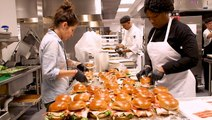 How 215,000 meals are made for Super Bowl LIV