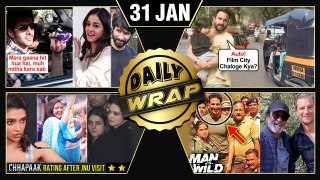 Saif, Taimur's Auto Ride, Akshay Kumar In Man VS Wild, Deepika On Chhapaak's Low Rating |Top 10 News