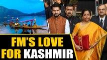 Budget 2020: FM Nirmala Sitharaman's Love for Kashmir   Oneindia News