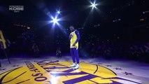 L'hommage émouvant de LeBron James pour Kobe Bryant