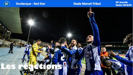 Réactions USLD - Red Star (J20)