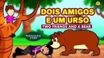 DOIS AMIGOS E UM URSO - Histórias morais para crianças | Contos de Fadas | Koo Koo TV Portuguese