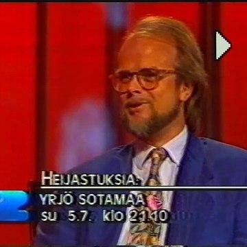 TV2 - Tulevaa ohjelmistoa ja kuulutus (4.7.1992)