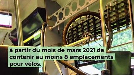 Train : Bientôt 8 emplacements minimum réservés aux vélos