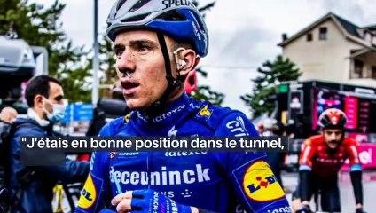 Tour d'Italie - Remco Evenepoel : «C'est la course et cela arrive... »