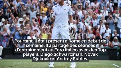 Roland-Garros - Andy Murray a tiré un trait sur la terre battue !