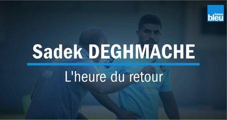 USAP : Sadek Deghmache, l'heure du retour