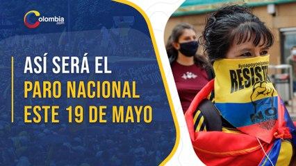 Paro nacional en Colombia: Puntos de concentración en las principales ciudades del país