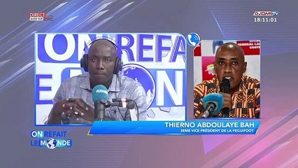 Bah Oury sur le cas  du chroniqueur Nanfo Diaby détenu à la prison civile de Kankan